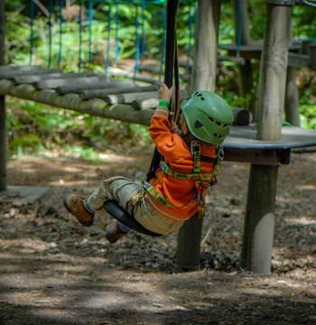 Parc Aventure FORET ADRENALINE - Carnac - Pitchoun (2-3ans)