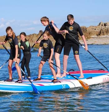 Club Nautique du Rohu - Location de paddle géant