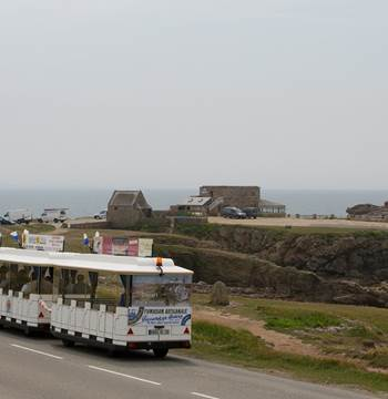 Petit train touristique - Quiberon - Morbihan - Bretagne-Sud