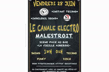 Les vendredis du canal : Le canale Electro à Malestroit