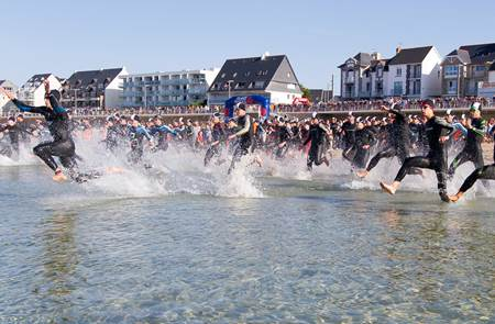 Les triathlons de la Presqu'ile de Quiberon