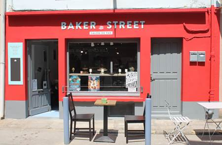 Salon de thé Baker Street