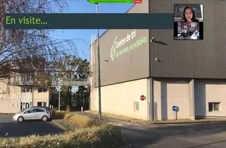 Visites virtuelles du centre de tri de Vannes