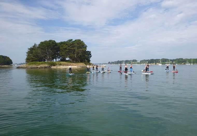 Découvrir le Golfe en paddle ©