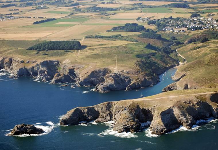Pointe de Pouldon - Locmaria - Belle-Ile - Morbihan Bretagne Sud ©