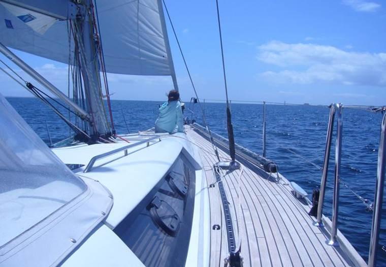 Arno-skipper-La-Trinite-Sur-Mer © Arnaud Walter