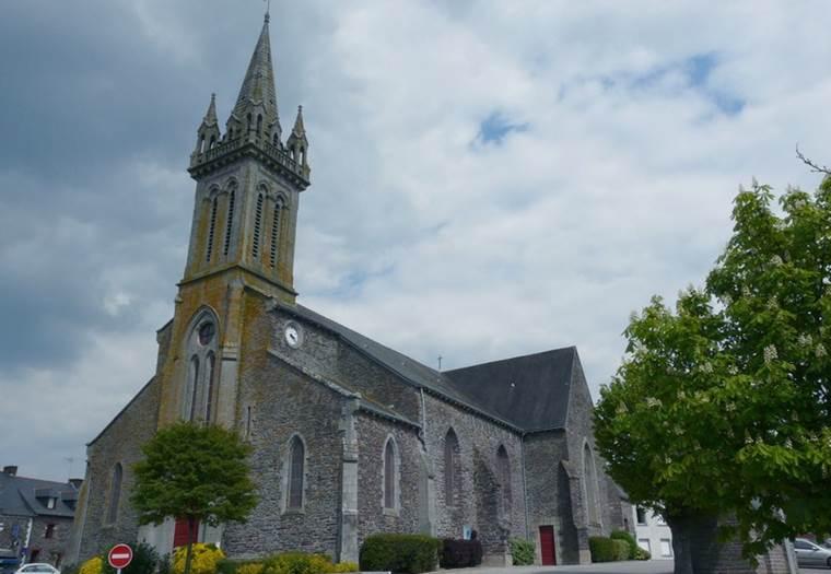 Eglise-Beignon-Morbihan-Bretagne-Sud © Mairie