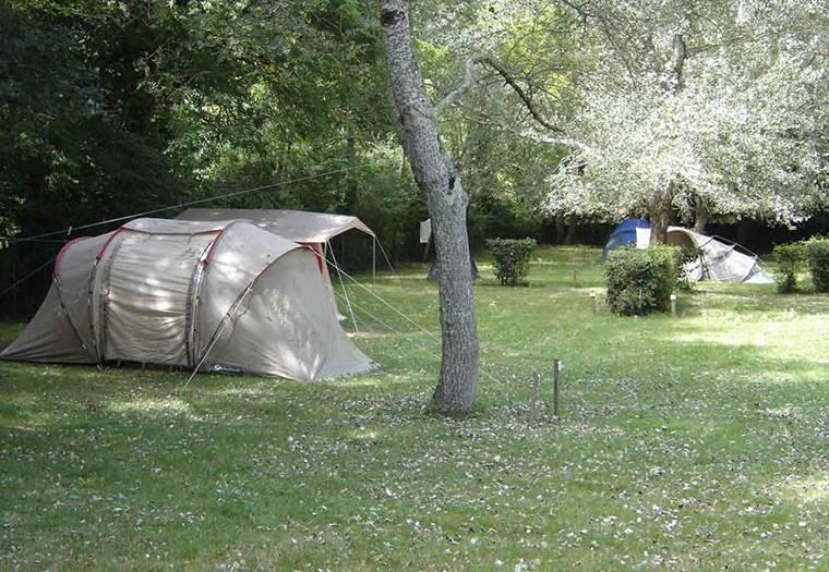Camping-municipal-Le-Vieux-Moulin-Ile-aux-Moines-Golfe-du-Morbihan-Bretagne sud © Le Vieux Moulin