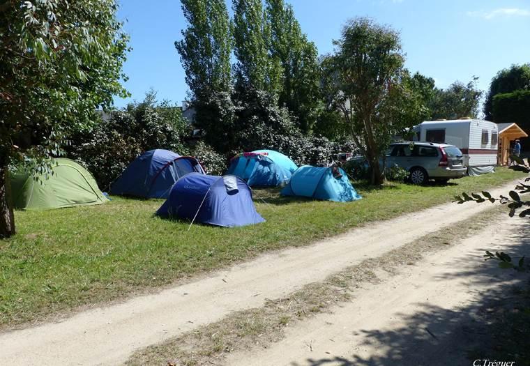 Camping Saint-Pierre-Locmariaquer-Morbihan Bretagne Sud © C. Tréguer