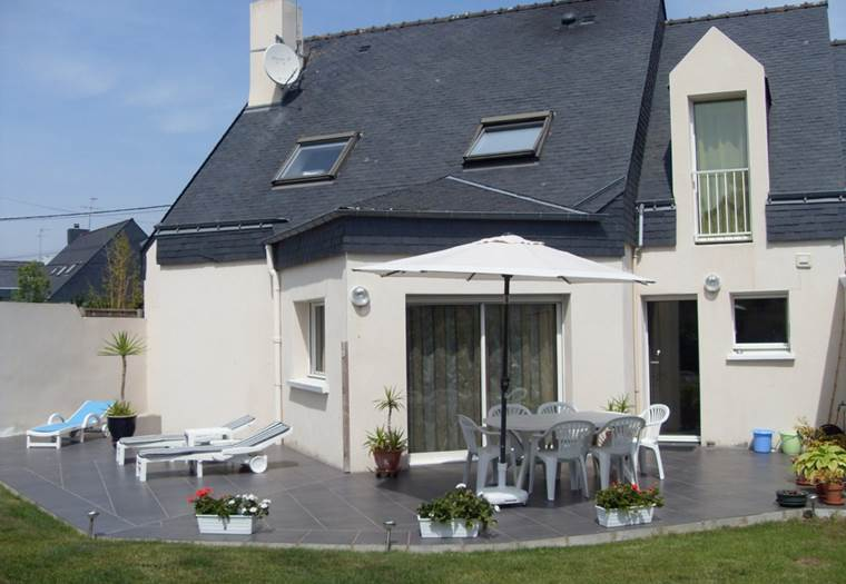 Location - maison - Larmor-Plage - Lorient - Morbihan Bretagne Sud - 6 personnes © Berton