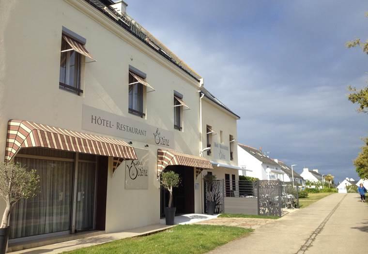 Hôtel La Sirène-Houat-Morbihan-Bretagne-Sud © Hôtel La Sirène