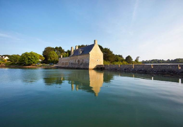 Vue-Moulin-Pen-Castel-Arzon-Presqu'île-de-Rhuys-Golfe-du-Morbihan-Bretagne sud © Alexandre Lamoureux