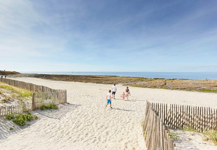 plage de Saint-Jacques à Sarzeau - Presqu'île de Rhuys - Golfe du Morbihan © Alexandre Lamoureux