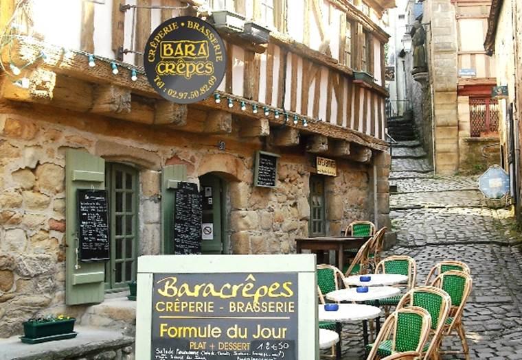 Baracrêpes Restaurant Saint-Goustan © OTAC