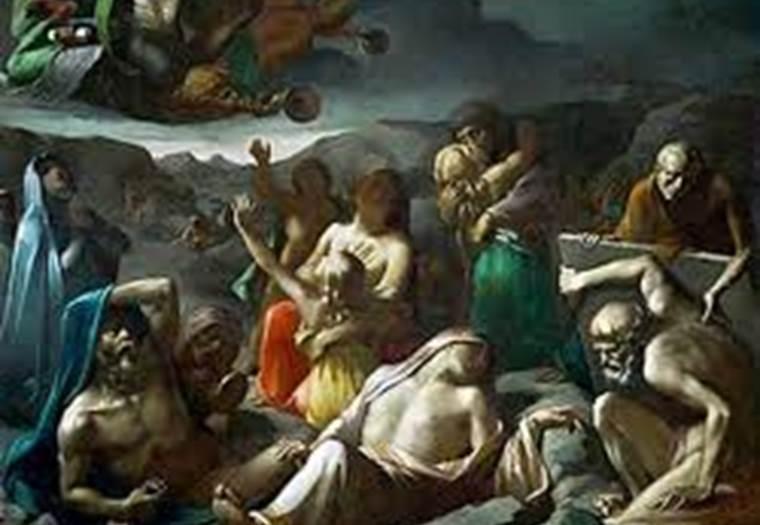 résurrection des morts de Chenavard ©