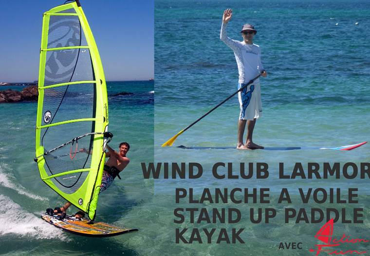 Wind-club-Larmor-Action-Fun-Larmor-Lorient-Groix-Morbihan-Bretagnesud © Wind Club Larmor Action Fun