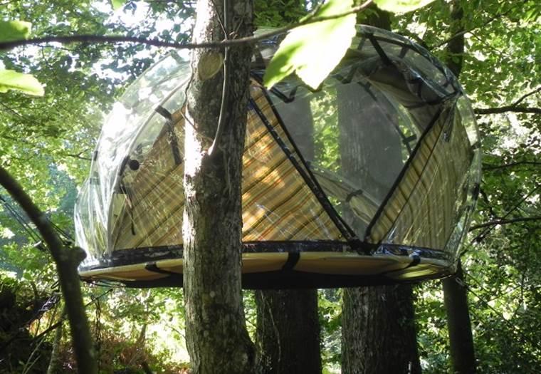 TY AR FAOU - Tente suspendue à La Vraie-Croix - Morbihan - Bretagne Sud © LOZEVIS