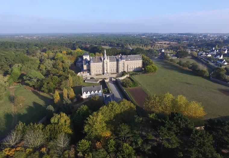 Abbaye St Michel de Kergonan-Plouharnel-Morbihan-Bretagne Sud © Abbaye St Michel de Kergonan