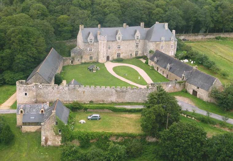 manoir-chateau-plessis-josso-morbihan-bretagne-sud ©