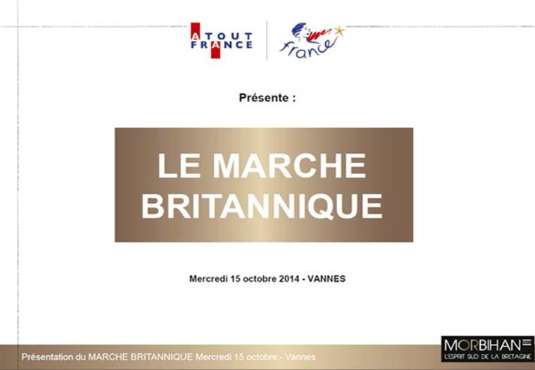 Présentation du Marché Britannique 15 octobre 2014 à Vannes © Morbihan Tourisme
