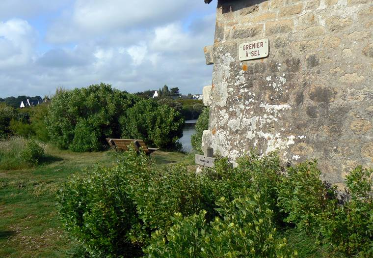 Grenier à sel - La Trinite sur Mer - Morbihan bretagne Sud © Office de Tourisme