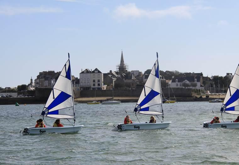 Centre-nautique-Port-Louis-Groix-Lorient-Morbihan-Bretagne-Sud © sellor
