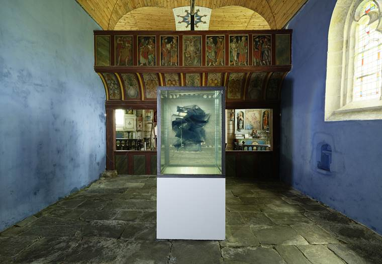 Adam Jeppesen, Works, Chapelle de la Trinité, Cléguérec © Aurélien Mole