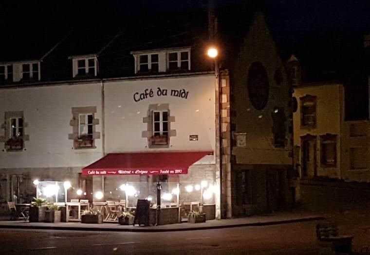 Restaurant-Crêperie Le Café du Midi-Quiberon-Morbihan-Bretagne Sud © Restaurant-Crêperie Le Café du Midi