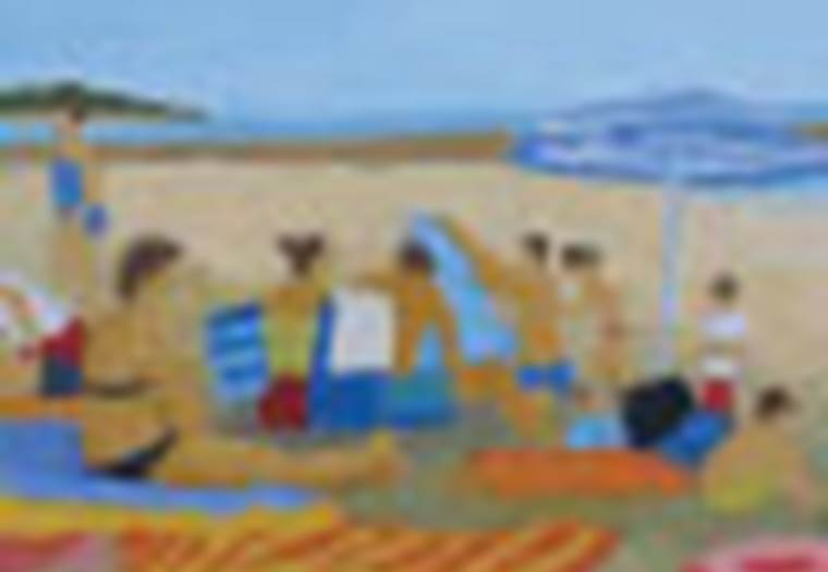 Atelier Dorothée Ponroy - La Trinite sur Mer - Morbihan Bretagne sud © Ponroy