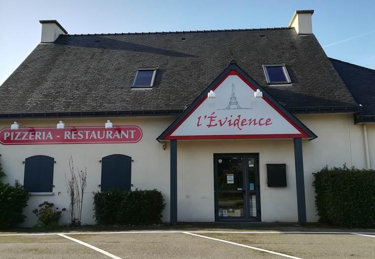 Pizzeria L'Evidence-St Pierre Quiberon-Morbihan-Bretagne Sud © Pizzeria L'Evidence