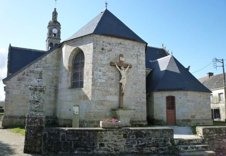 Eglise-Notre-Dame-de-Lorette-Roudouallec-Morbihan-Bretagne-Sud © OTRPM