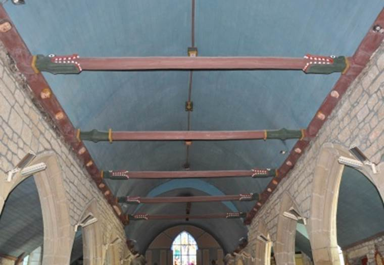 Eglise-Saint-Melaine-Meslan-Pays-Roi-Morvant-Morbihan-Bretagne-Sud © CCPRM