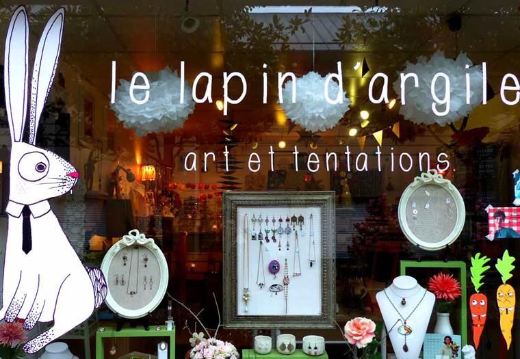 Boutique Le Lapin d'Argile ©