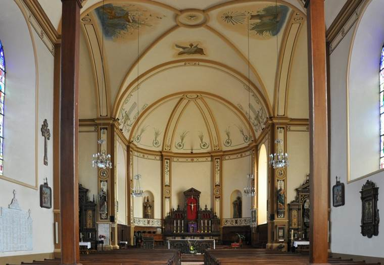Eglise-Guer-Morbihan-Bretagne-Sud © Père Blot