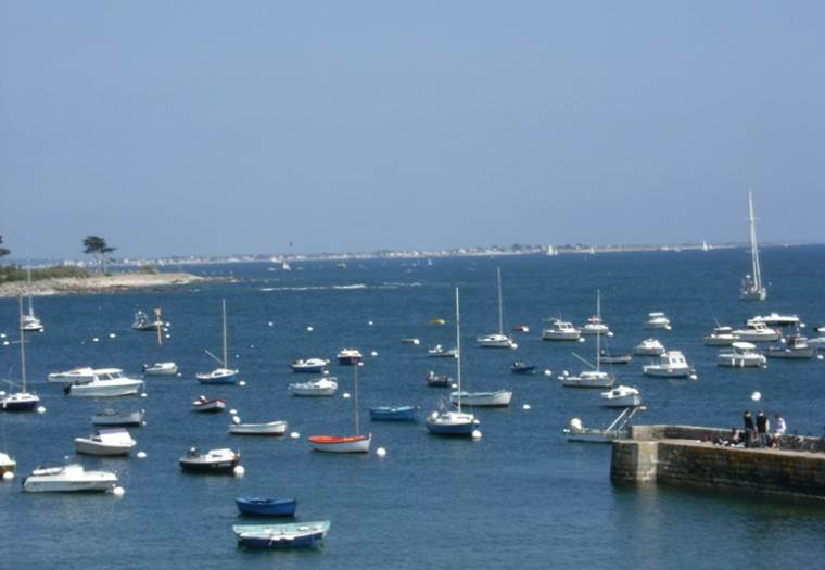 location vacances - appartement - Ploemeur - Lorient - Groix - Morbihan Bretagne Sud -  3 personnes © Le Grusse