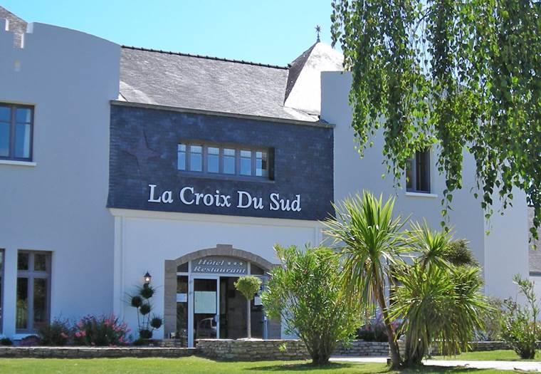 Hôtel-Restaurant-La-Croix-du-Sud-Le-Tour-du-Parc-Golfe-du-Morbihan-Bretagne sud © La Croix du Sud