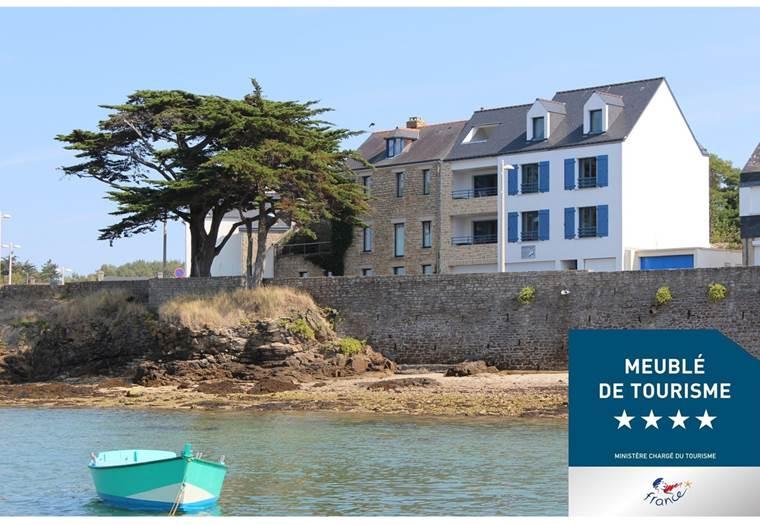 Résidence-Brise-de-Mer-Arzon-Golfe-du-Morbihan-Bretagne sud © Résidence Brise de Mer