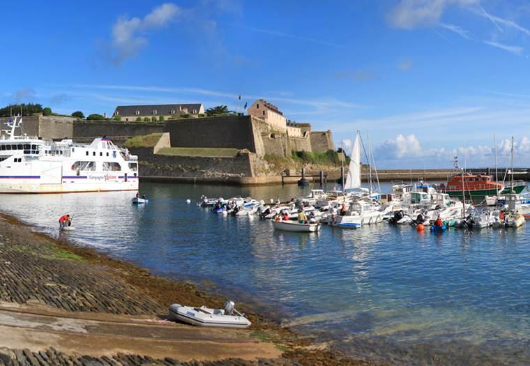La Brise Belle Ile port de plaisance de le palais-belle ile - le palais