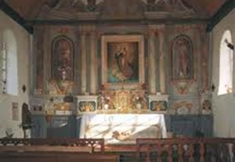 retable chapelle notre dame de quemper ©