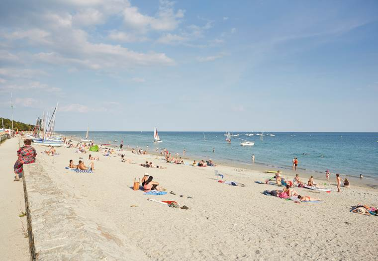 plage du Roaliguen - Sarzeau - Presqu'île de Rhuys - Golfe du Morbihan © Alexandre Lamoureux
