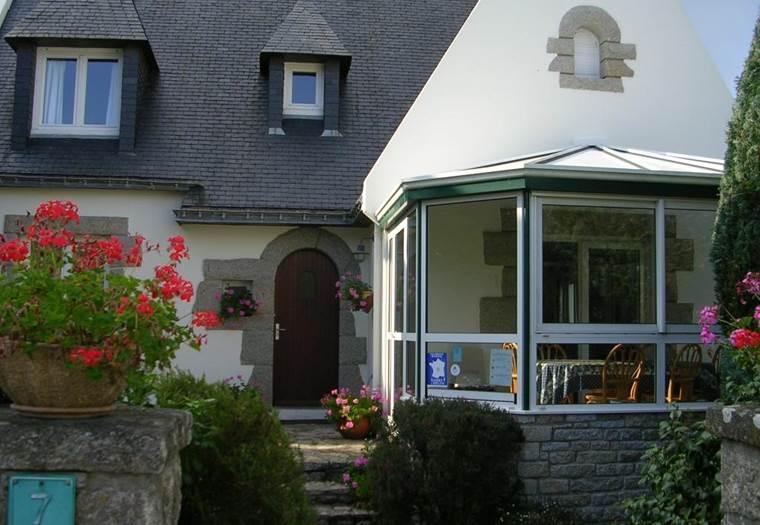 Flohic-Vue façade-La-Trinité-sur-Mer-Morbihan-Bretagne-Sud © Mme Flohic