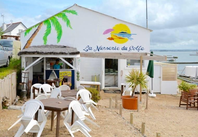 La nurserie du Golfe à Sarzeau - Golfe du Morbihan - Bretagne Sud ©