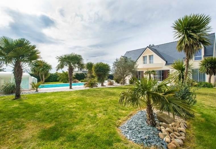 1.Location de vacances à Plouharnel en baie de Quiberon - Morbihan Bretagne sud © La Palmeraie de Crucuno