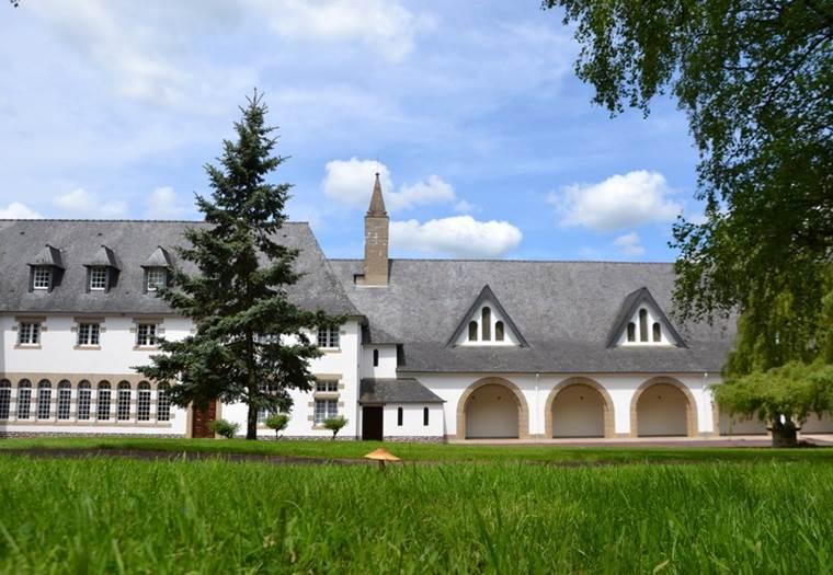 Abbaye-La-Joie-Notre-Dame-Campénéac-Morbihan-Bretagne-Sud ©