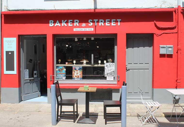 Salon de thé Baker Street ©