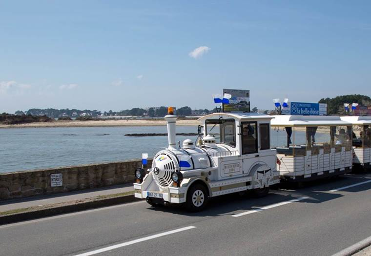 Petits trains touristiques - La trinité-sur-Mer ©