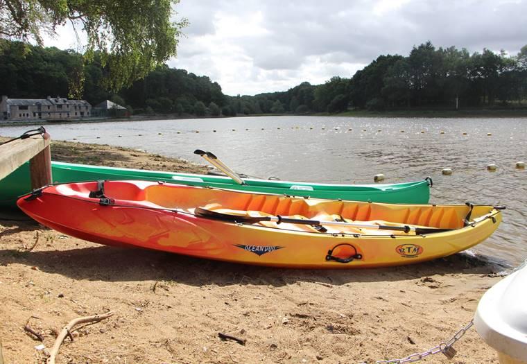 Location canoë kayak Moulin Neuf - Morbihan Bretagne Sud © Rochefort-en-Terre Tourisme