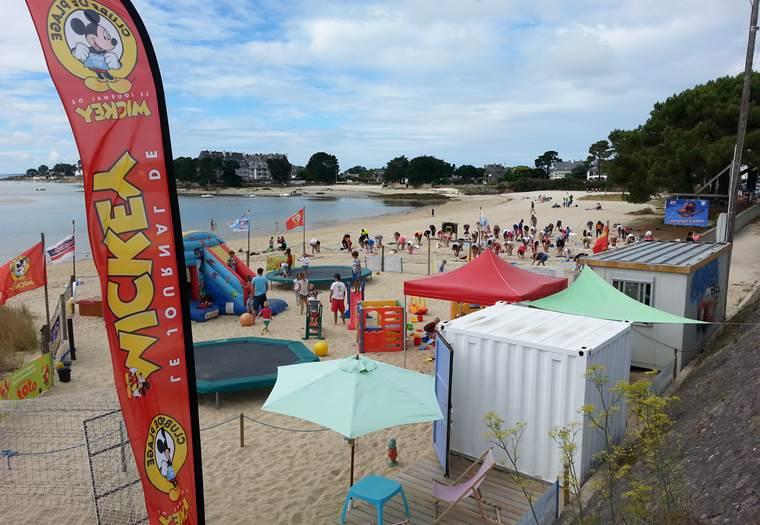 Club de plage 2-La Trinité-sur-Mer-Morbihan-Bretagne-Sud © hanquier