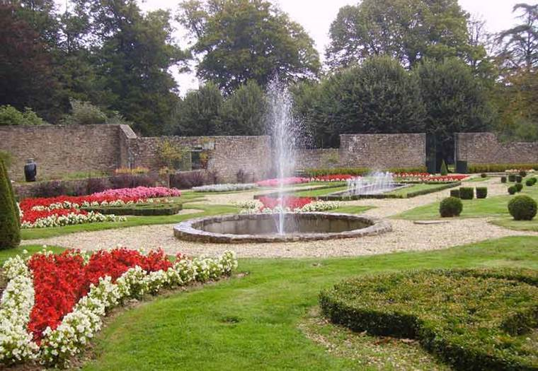 Parc-et Jardins-du-Château-de-Tredion-Golfe-du-Morbihan-Bretagne sud ©