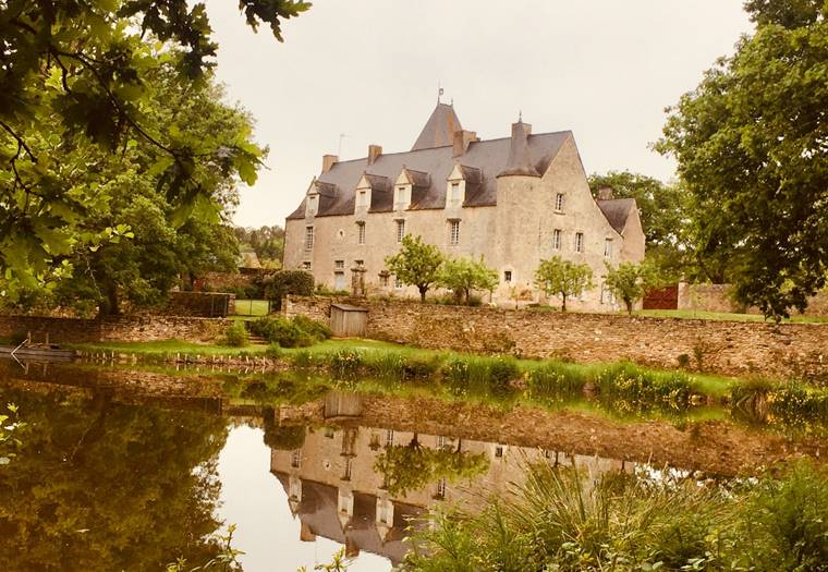 Château du Vau de Quip-Allaire-Morbihan Bretagne Sud ©